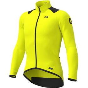 Alé Cycling R-EV1 Thermal Maglia a Maniche Lunghe Uomo, giallo